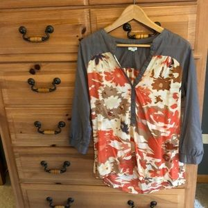 Odille floral blouse